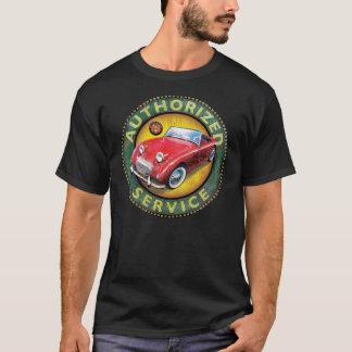 Camiseta Muestra del servicio del sprite de Austin Healey
