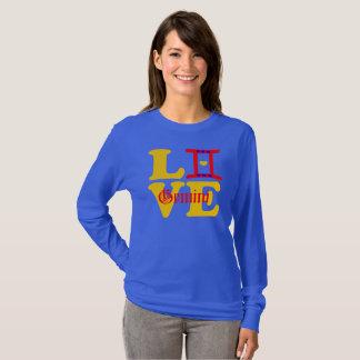 Camiseta muestra Longsleeve del Géminis-Mejor-Zodiaco del
