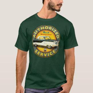 Camiseta Muestra metropolitana del servicio del vintage de