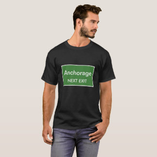 Camiseta Muestra siguiente de la salida de Anchorage