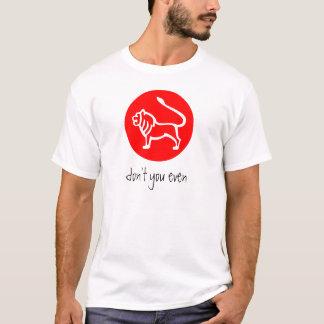 Camiseta Muestra T del zodiaco de Leo