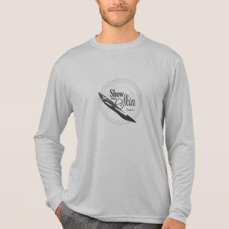Camiseta Muestre a un cierto guardia de la erupción de piel