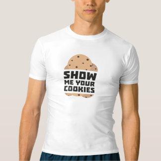 Camiseta Muéstreme sus galletas Znwm6
