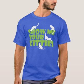 Camiseta Muéstreme sus gatitos