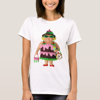 Camiseta Mujer de la torta