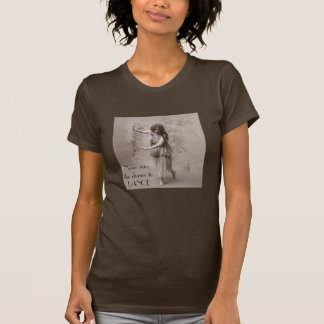 Camiseta Mujer del bohemio del vintage