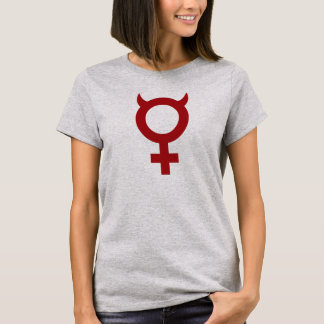 Camiseta Mujer desagradable