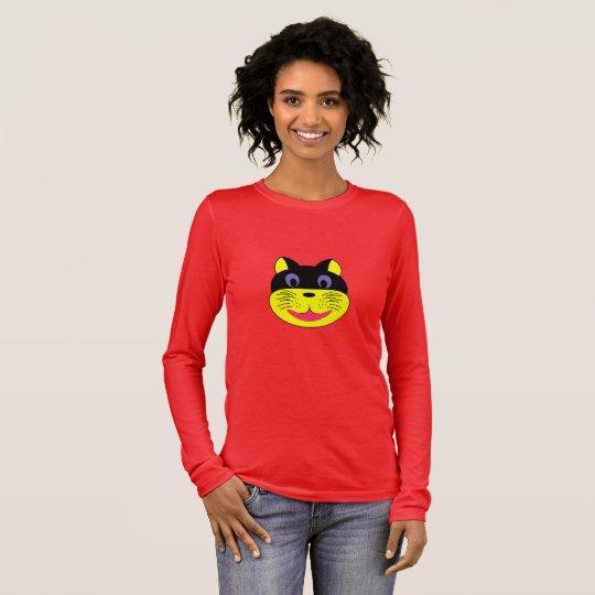 camiseta mujer gato, gato camiseta