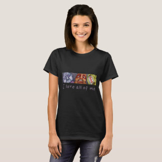 """Camiseta mujer  """"Love all of me"""""""