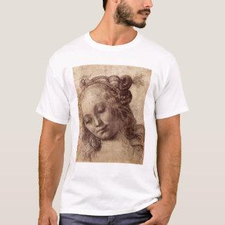 Camiseta Mujer que mira abajo