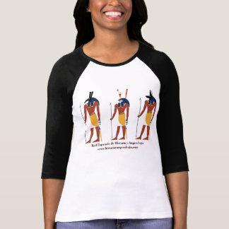 Camiseta Mujer REHA Raglan 3/4 entallada