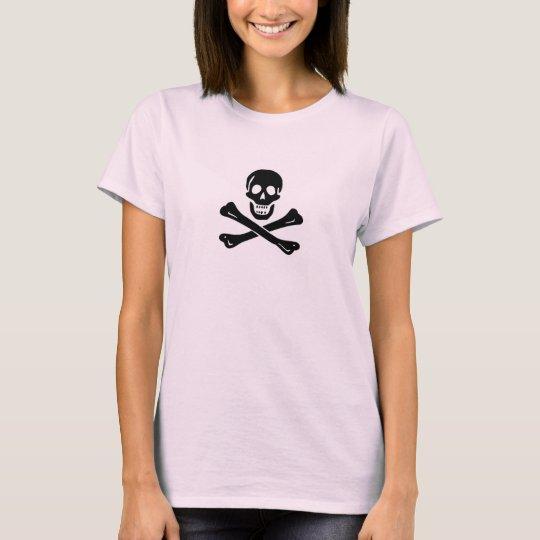 Camiseta Mujeres de Edward England (cráneo negro)