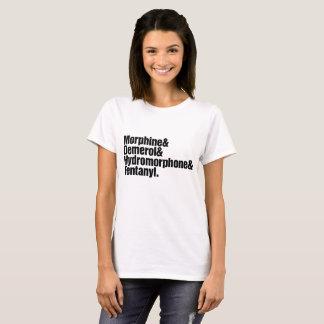 Camiseta Mujeres de la progresión del dolor