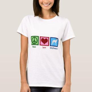 Camiseta Mujeres de los galgos del amor de la paz
