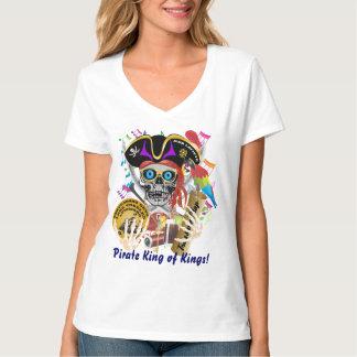 Camiseta Mujeres del contrabando del pirata toda la luz de