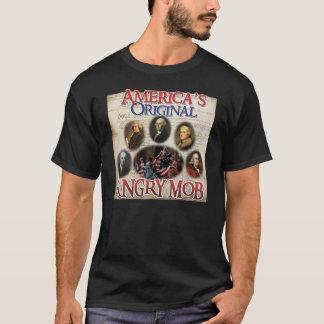 Camiseta Multitud enojada. Las originales