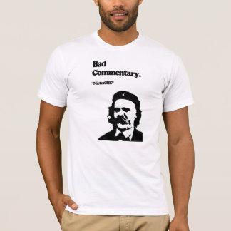 Camiseta Mún comentario: ¡NietzsCHE!