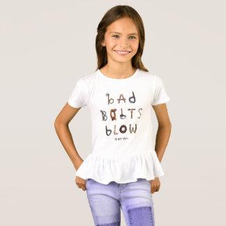 Camiseta Mún soplo de los pernos - volante de los chicas
