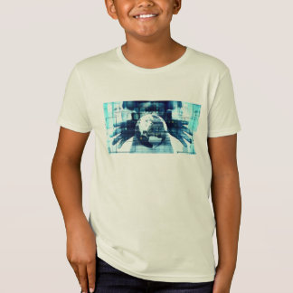 Camiseta Mundo de Digitaces e industria de la forma de vida