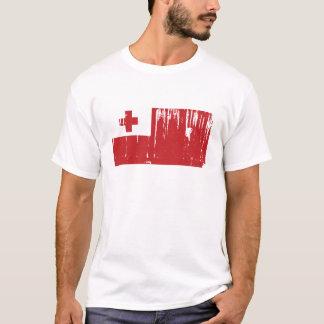 Camiseta Mundo de la bandera de Tonga