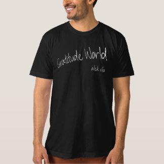 Camiseta Mundo de la gratitud de Alek Vila natural