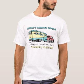 Camiseta Mundo del campista de Hank apenado