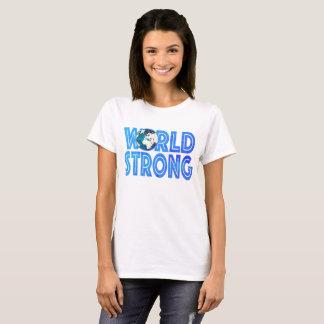 Camiseta Mundo fuerte