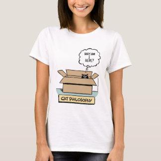 Camiseta Muñeca de las señoras de la filosofía del gato