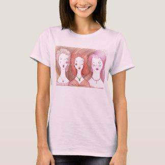 Camiseta Muñeca Harried T de las señoras del trío