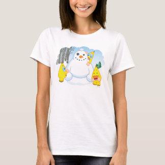 Camiseta Muñeco de nieve de Zingoz