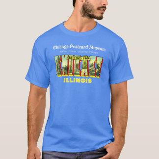 Camiseta Museo de la postal de Chicago