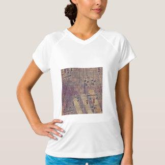 Camiseta Música, apariencia vintage B