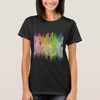 Camiseta Música-Bajo electrónico de la danza abajo bajo