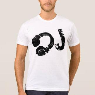 Camiseta música d.j./auricular de DJ