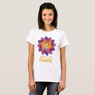 Camiseta Música de las flores