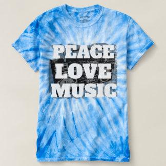 Camiseta Música fresca Boombox apenado retro del amor de la