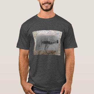 Camiseta Mustango P51 sobre WW2 Alemania