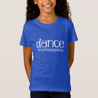 Camiseta #myhappyplace de la danza - real