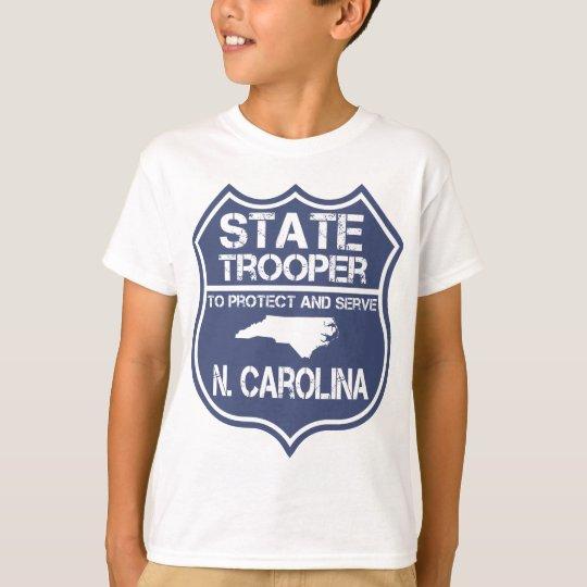 Camiseta N. soldado de caballería estatal de Carolina a