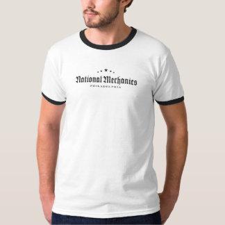 Camiseta nacional del campanero de los mecánicos