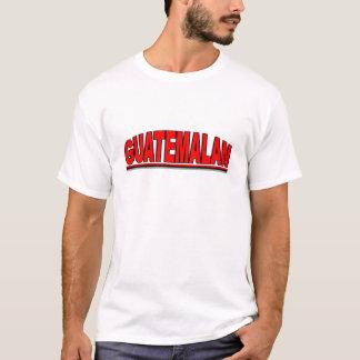 "Camiseta Nacionalidades - ""guatemalteco """