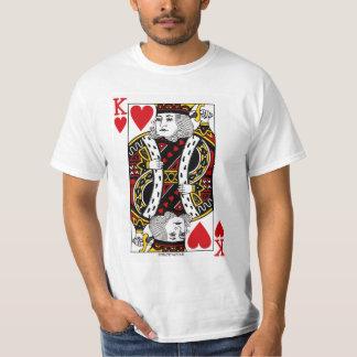 Camiseta Naipe de rey Of Hearts