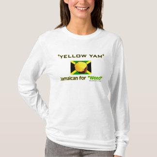 Camiseta Ñame amarillo: Comida de la gente más rápida del