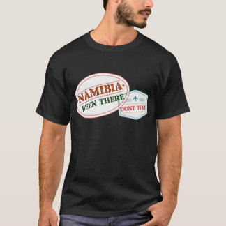 Camiseta Namibia allí hecho eso