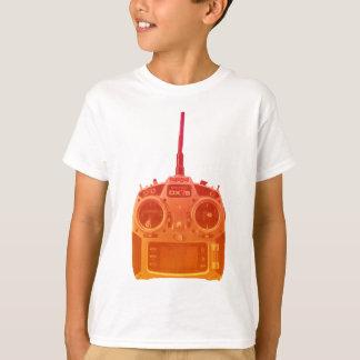 Camiseta Naranja del estilo de Miami/radio roja de Spektrum