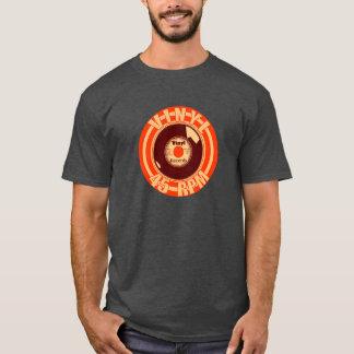 Camiseta Naranja del vinilo 45