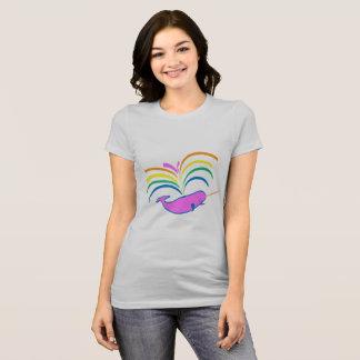 Camiseta Narwhal atmosférico