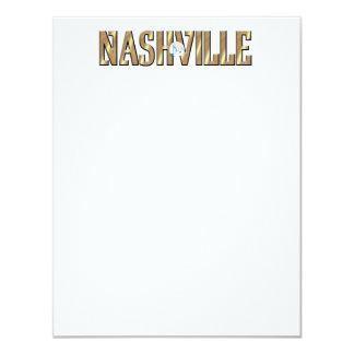 CAMISETA Nashville Invitación 10,8 X 13,9 Cm