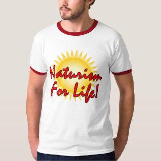 Camiseta Naturist/nudista