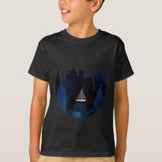 Camiseta Navegación de la ciudad en la noche
